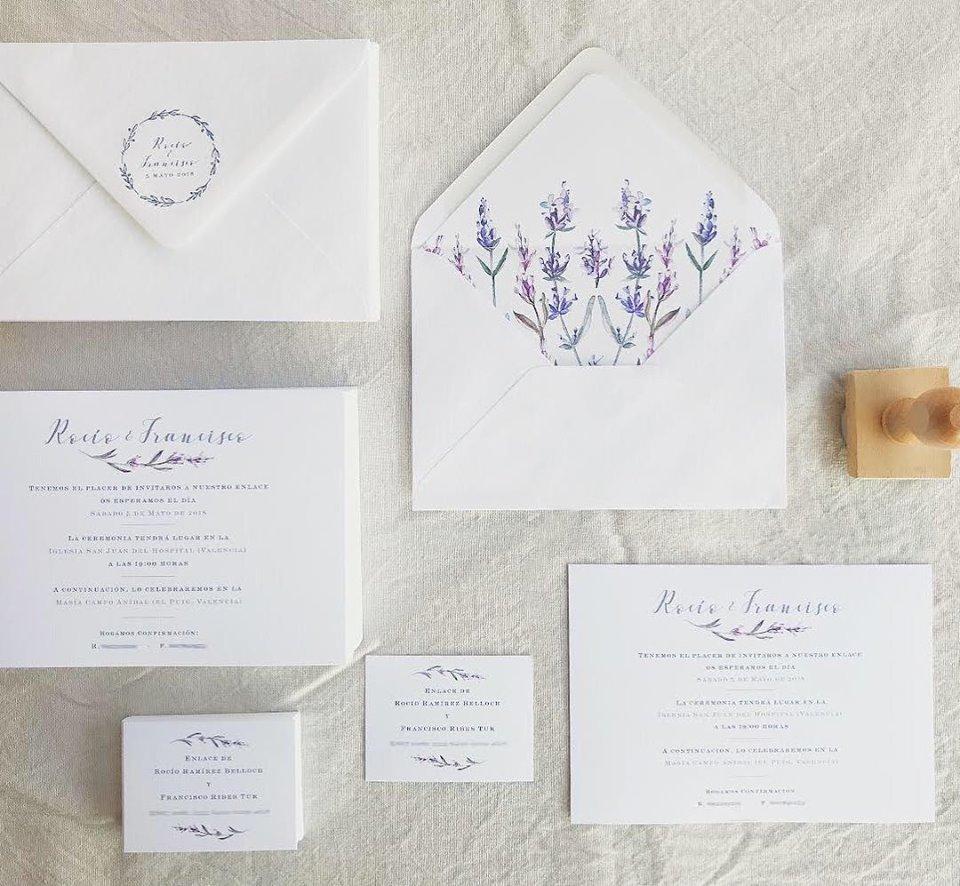 Papelería boda Gingermoon